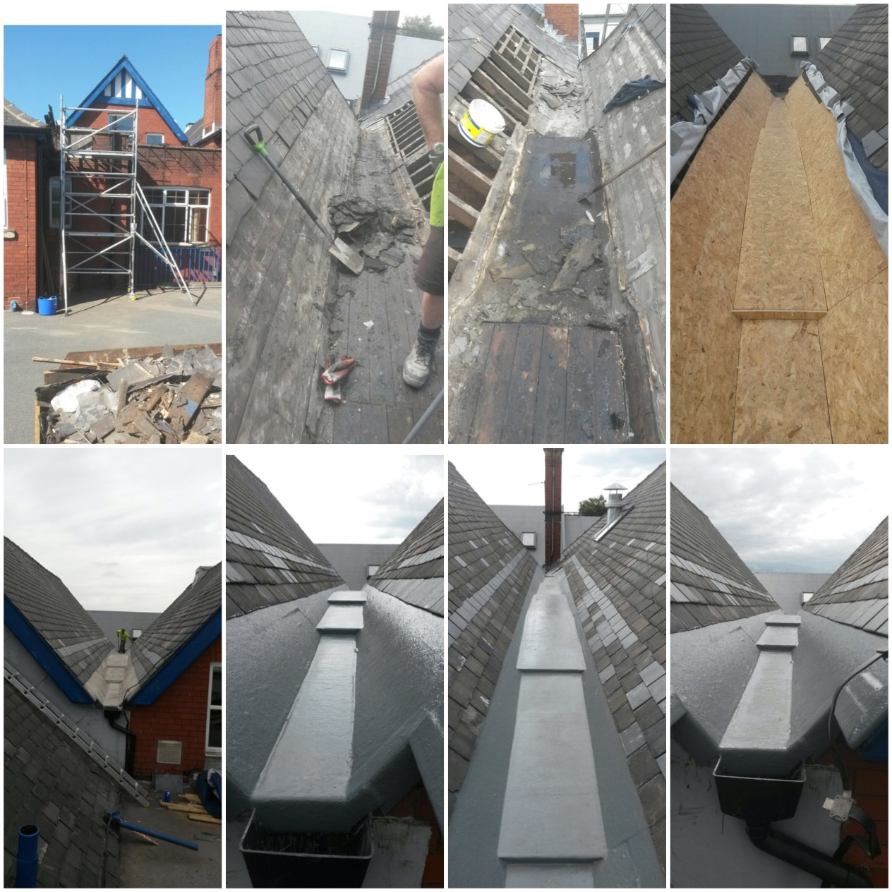 Roofing Works, Thorpe Primary School, Leeds